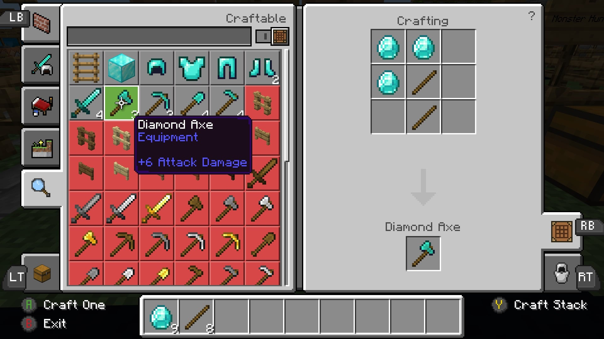 MOAR Tools - Pocket: Axe