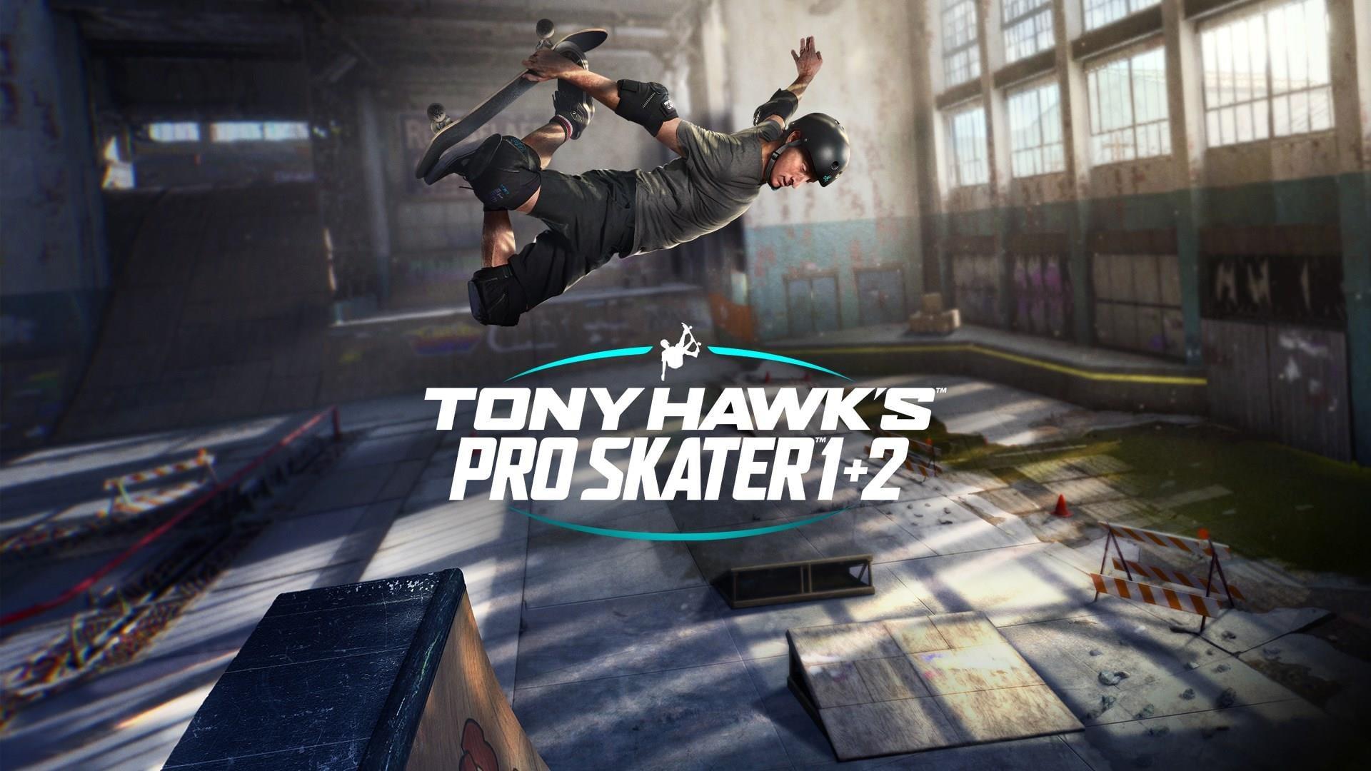 Tony Hawk's Pro Skater 1 + 2 ~ TitledHeroArt