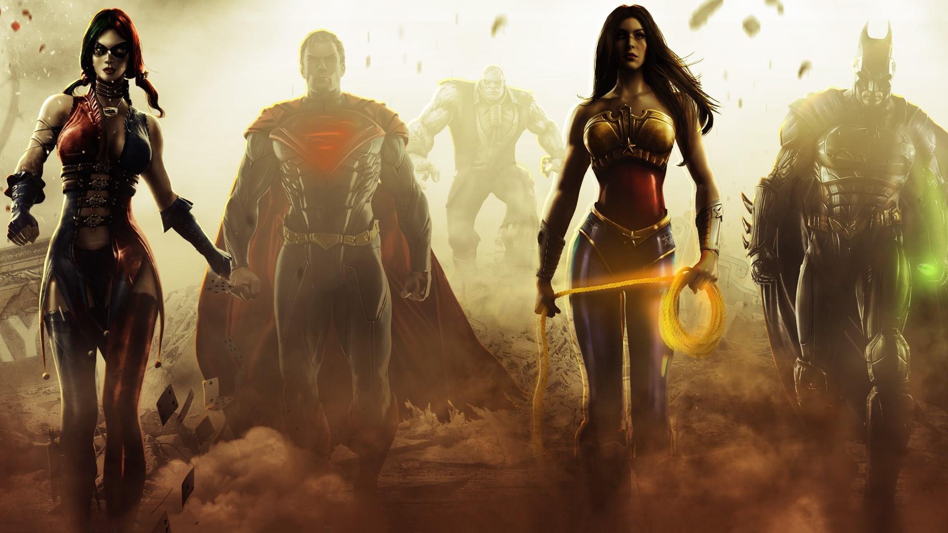 Injustice: Gods Among Us ~ HeroArt