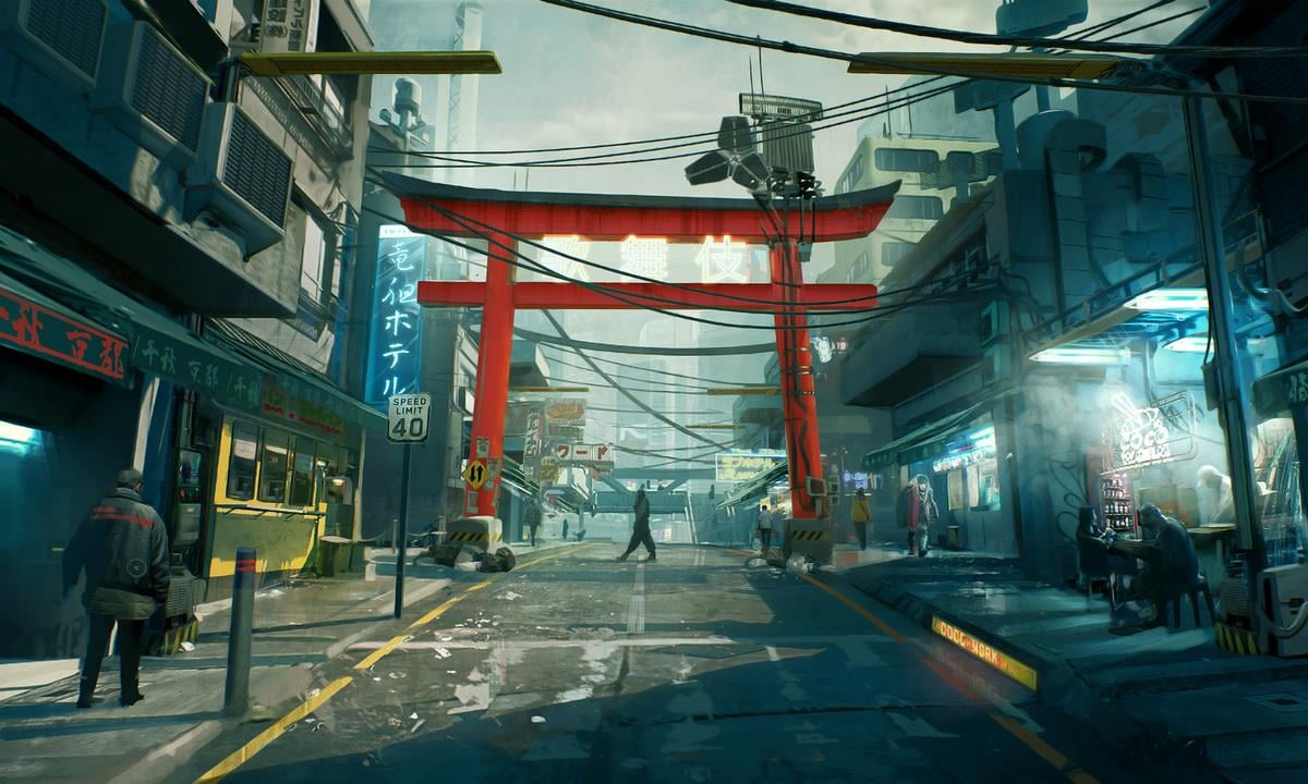 Cyberpunk 2077 screenshots and artwork