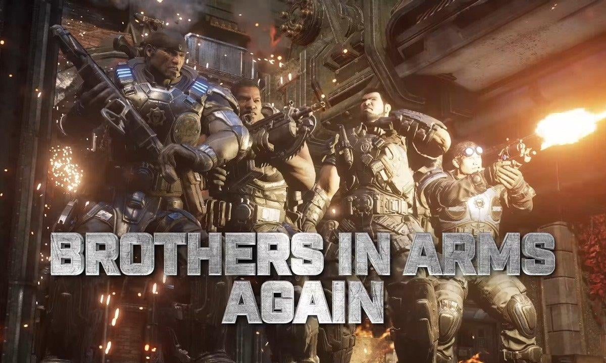 Gears 5 Operation 4 Brothers in Arms ranked