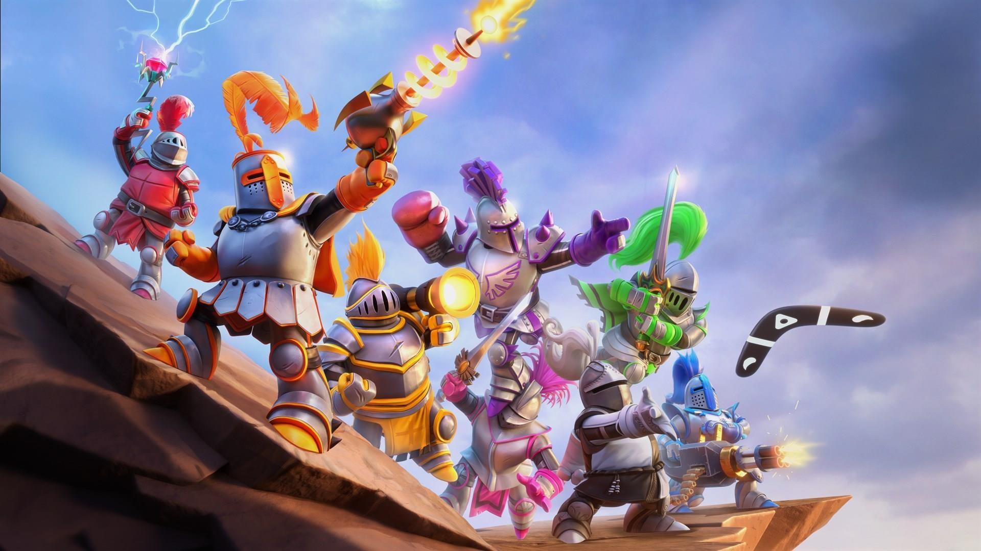 Knight Squad 2 - Demo ~ SuperHeroArt