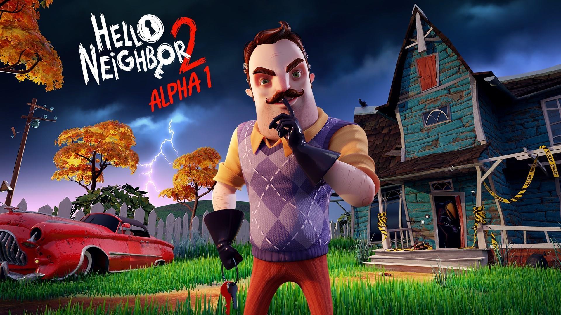 Hello Neighbor 2 Alpha 1 ~ HeroArt