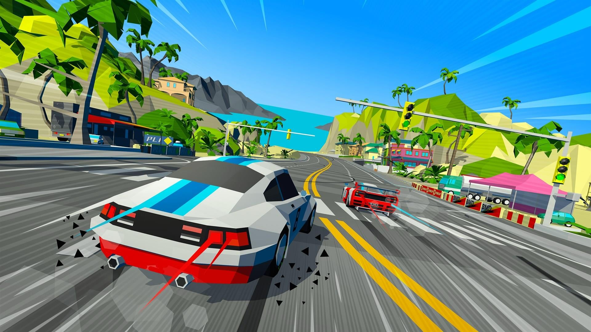 Hotshot Racing: Demo ~ SuperHeroArt