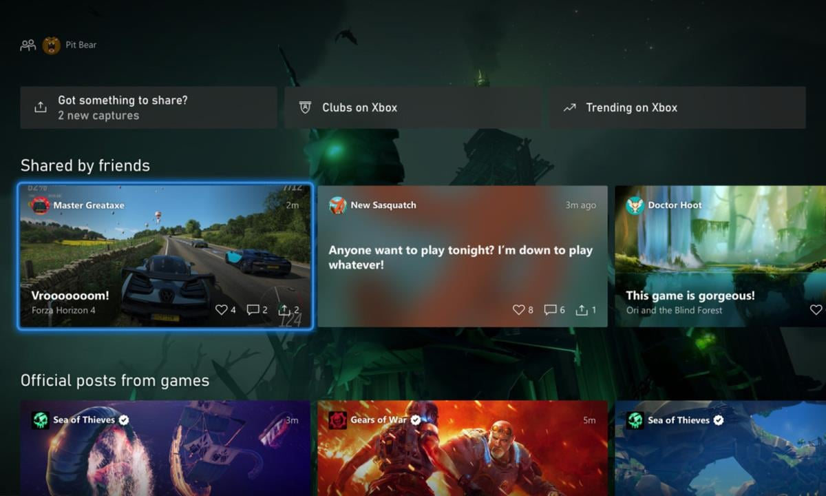 Xbox Beta Testers Can Try the New Xbox UI Starting Today