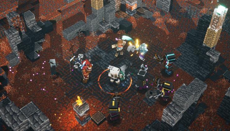 Minecraft Dungeons crossplay