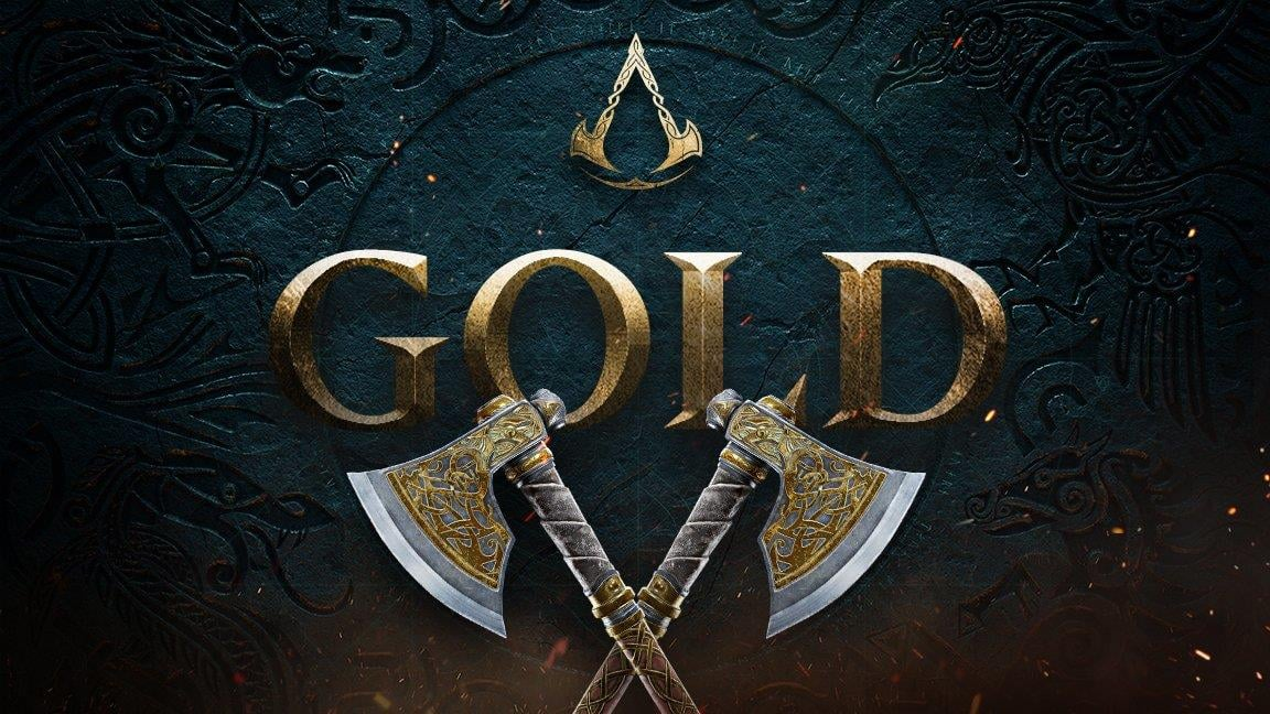 Ubisoft announces that Assassin's Creed Valhalla has gone gold