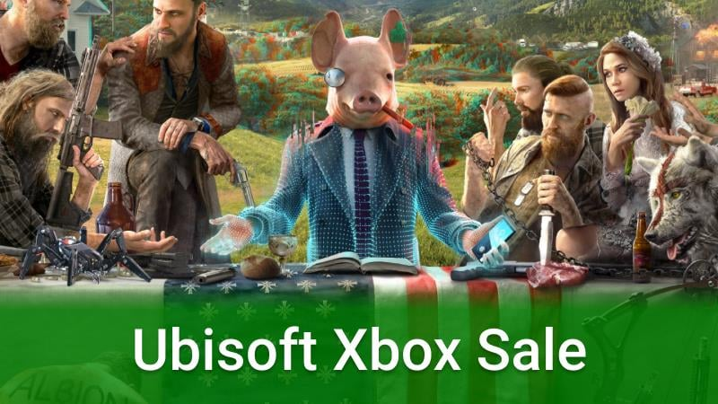A Special Ubisoft Xbox Sale Is Now Live With Dedsec Hacking Each Game S Cover Art