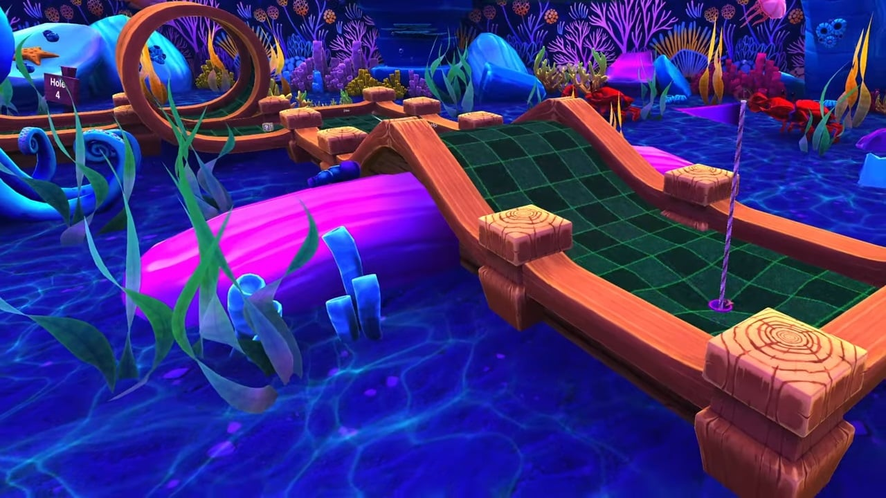 Cannons, sharks, krakens, treasure, and new achievements await in a new free aquatic course for Golf With Your Friends, arriving today.