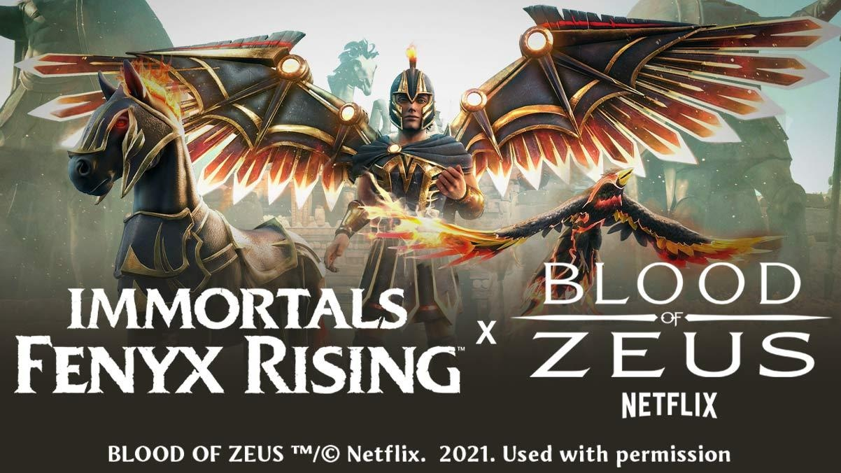 Blood of Zeus and Immortal: Fenyx Rising crossover announced, starts today