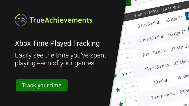 xbox time played stat and how to sort by play time on trueachievements