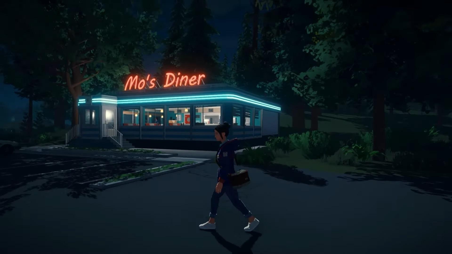 Lake open-world adventure gameplay