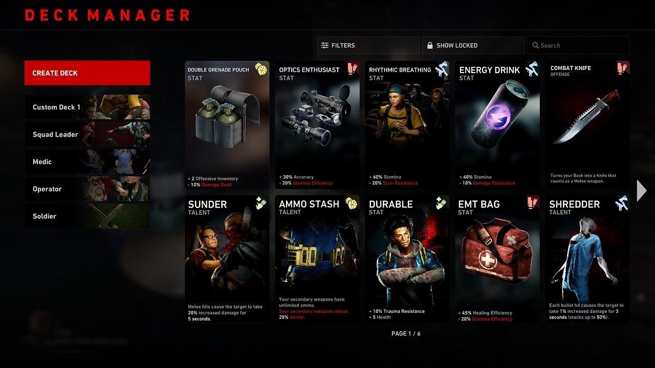 back 4 blood gameplay trailer card system game director