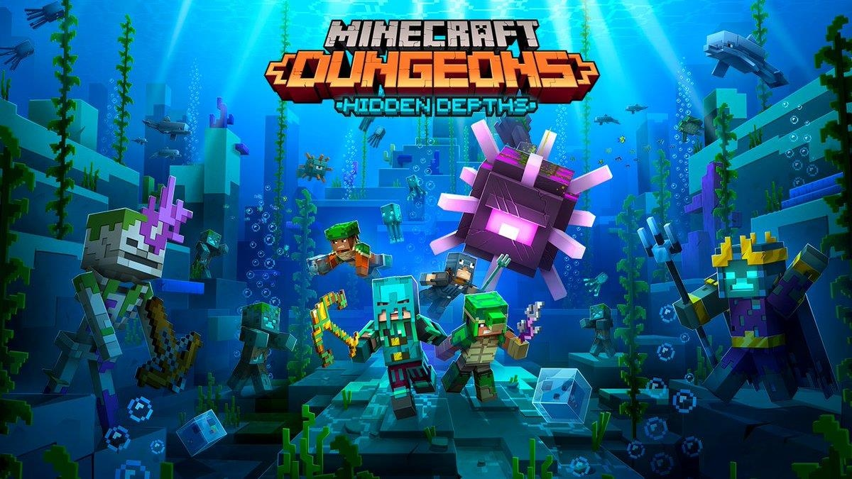 Minecraft Dungeons Hidden Depths DLC release date
