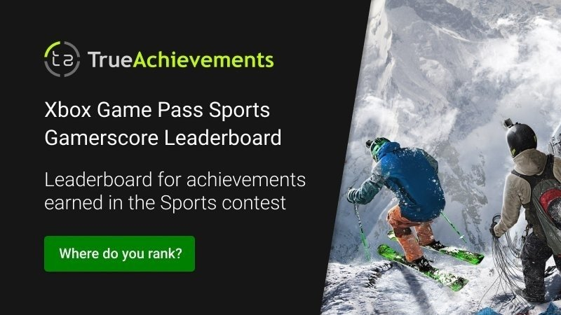 Xbox Game Pass Ultimate Contest June leaderboard