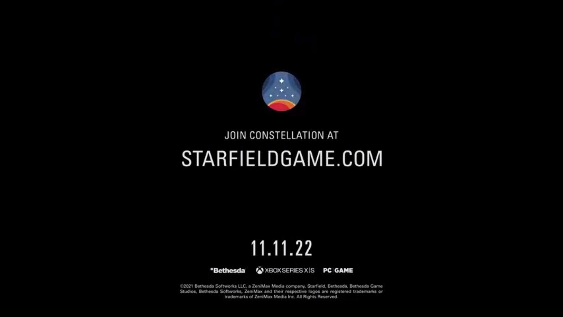 Starfield release datge