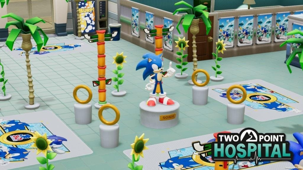 Two Point Hospital gets free Sonic the Hedgehog crossover