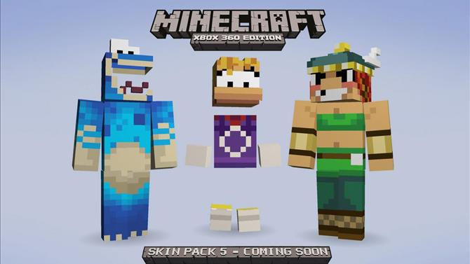Minecraft Releases Skin Pack 5