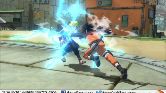 Naruto Shippuden: UNSR Screens Unleashed