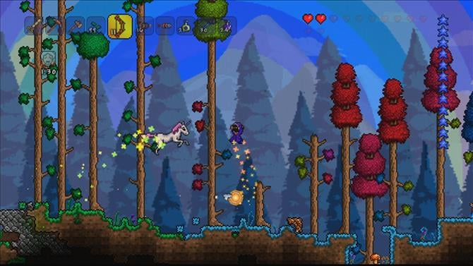 Terraria Progresses Toward Update 1.3