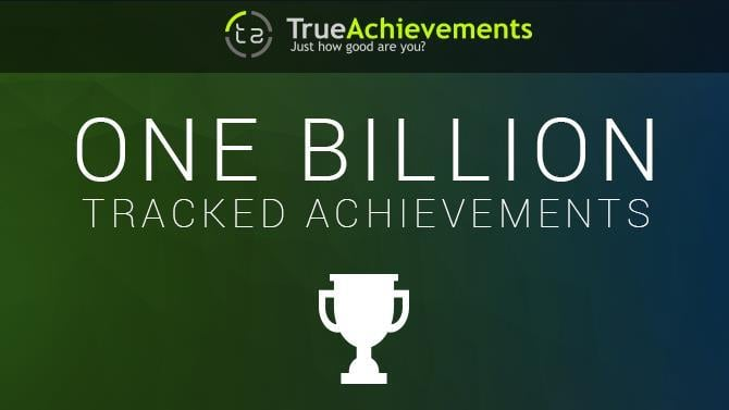 TrueAchievements Has Now Tracked 1 Billion Achievement Unlocks