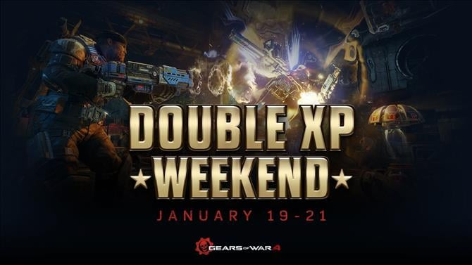 Gears of War 4 Double XP Weekend Now Live