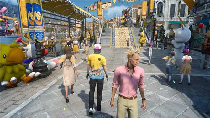 Final Fantasy XV's Moogle Chocobo Carnival Event Details