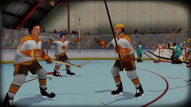 Old Time Hockey Changes Name and Finally Gets a Release Date