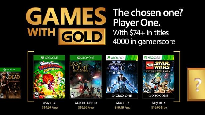 May's Games with Gold Titles Announced