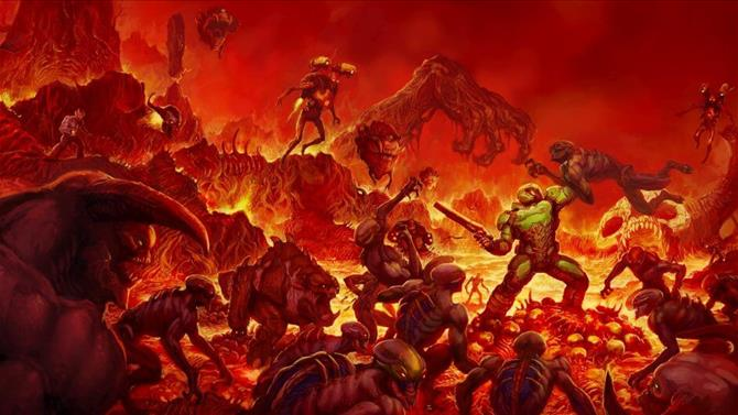 DOOM's 6.66 Update Unlocks All DLC Content and Free Weekend