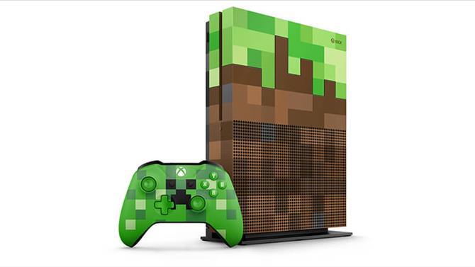 Limited Edition Minecraft Xbox One S Bundle and Controllers Announced