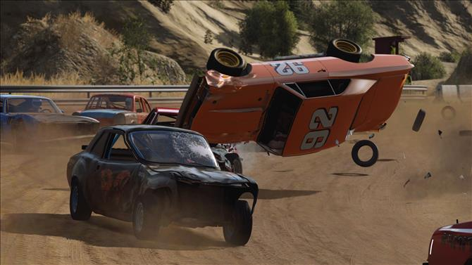 PAX West: Wreckfest Allows Racers To Swap Much More Than Paint
