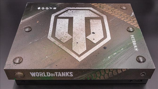 World of Tanks Custom Xbox One X Console Giveaway