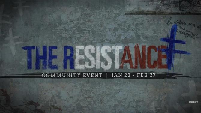 Call of Duty: WWII Welcomes Resistance Event
