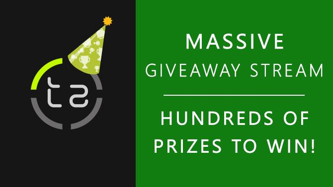 10th Birthday Giveaway Stream - Over £3,000 of Prizes to be Won