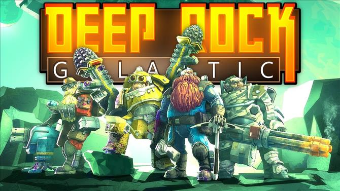 Deep Rock Galactic Xbox One Code Giveaway