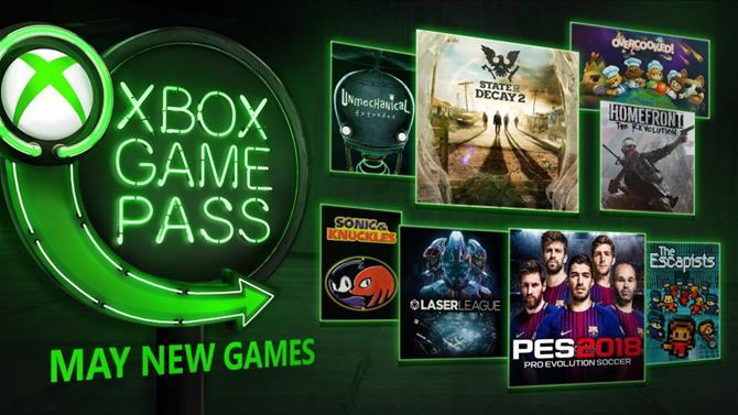 May 2018 Xbox Game Pass Additions: State of Decay 2, PES 2018 and More