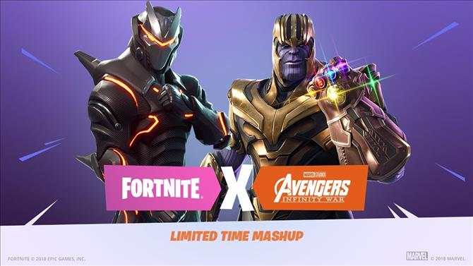 Fortnite V4 1 Patch Live With Avengers Infinity War Mashup