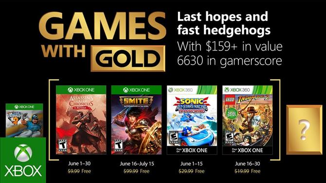 SMITE Gold Bundle and LEGO Indiana Jones 2 Now Free with Games with Gold