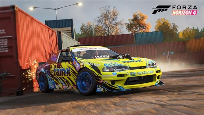 Forza Showcases the Formula Drift Car Pack