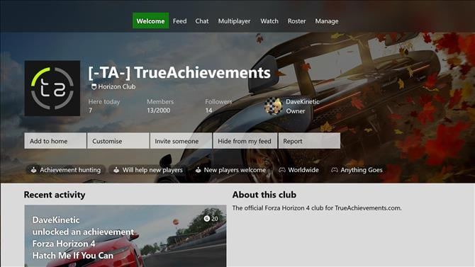 UPDATED] Join the Official TrueAchievements Car Club in