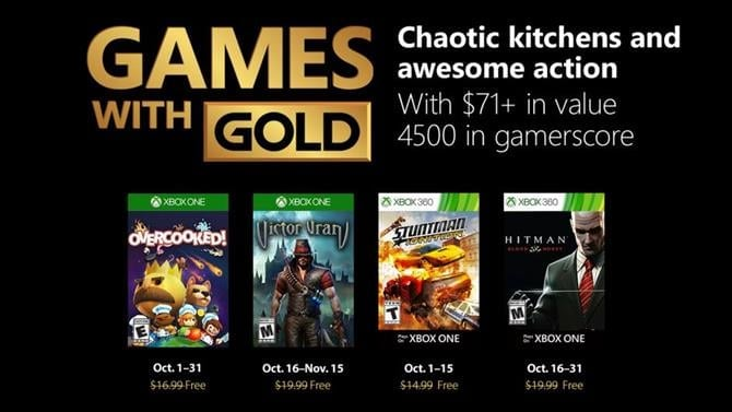 Victor Vran and Hitman: Blood Money Now Free with Games with Gold