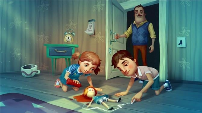 Giveaway: Win an Xbox One Code for Hello Neighbor: Hide and Seek
