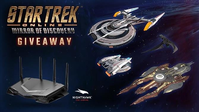 Giveaway: Win a Pro Gaming Router With Star Trek Online