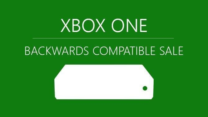 Xbox One Backwards Compatibility Sale 2019
