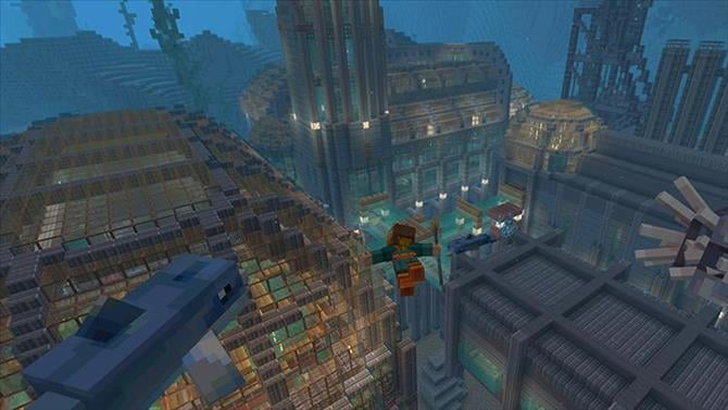 Minecraft Deep Sea Mash-up Pack Free for Limited Time