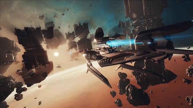 Warframe Teases Space Combat Expansion With Nekros Prime