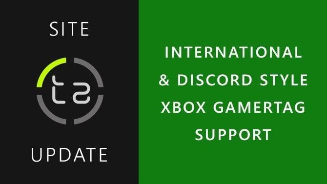 TrueAchievements Now Supports the New Xbox Gamertag System