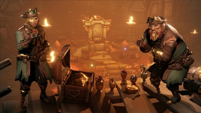 Sea of Thieves' Lost Treasures update adds five new achievements and much more