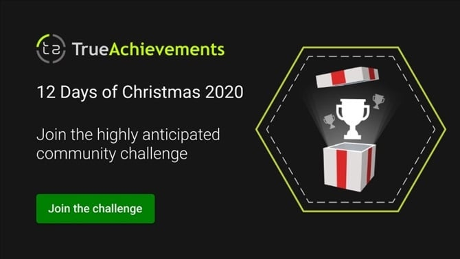 The TrueAchievements Twelve Days of Christmas Challenge Returns for 2020
